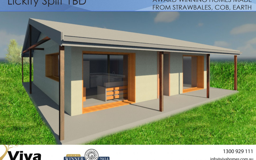 1 Bedroom Strawbale House Plan