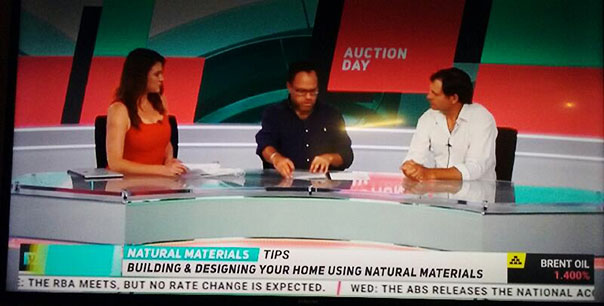 You Money TV show on building your home with natural materials